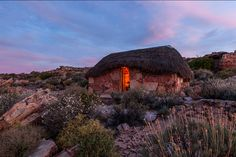 Bakkrans Cottage at sunset. (Cederberg) Photo by Teagan Cunniffe