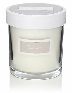 Brown Coconut Large Filled Candle, M&S £12