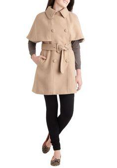 Classic Caper Coat, #ModCloth