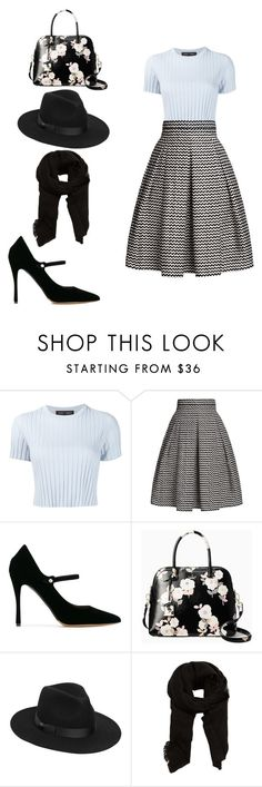 """""""Untitled #288"""" by dutifully-enchanting-gladiator ❤ liked on Polyvore featuring Proenza Schouler, Rumour London, Tabitha Simmons, Kate Spade, Lack of Color and MANGO"""