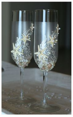 "For Your Toast | Community Post: 63 Ideas For Your ""Little Mermaid"" Wedding"