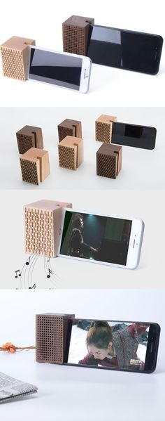 A wooden iPhone Phone SmarPhone Sound amplifier Cell Phone C.- A wooden iPhone Phone SmarPhone Sound amplifier Cell Phone Charging Station Dock Mount Holder Charge Cord Cable Organizer Amplification Stands for iPhone 77 Plus and other smartphones - Iphone Stand, Iphone Phone, Wood Phone Stand, Iphone Holder, Iphone Charger, Cell Phone Holder, Iphone S6 Plus, Woodworking Plans, Woodworking Projects