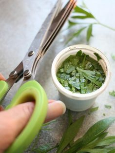 7 Reasons Not to Throw Away K-Cups. I would save just one serving of fresh herb in each cup and freeze them. Just throw the frozen herds in the pot when needed