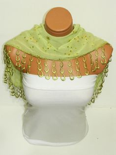 Personalized Design olivegreen Scarf Turkish by WomanStyleStore, $14.00