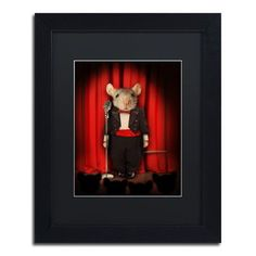 "Viv + Rae ""Mice Series #1.5"" by J Hovenstine Studios Framed Graphic Art Size:"