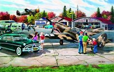 Warbird Rally (SunsOut 550) SIMPLE PASTIMES PUZZLES
