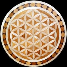 Flower Of Life wood flooring inlaid design / medallion. #floweroflife #woodfloor #woodfloormedallion #wood #woodworking #woodfloordesign #inlay #intarsia #interiordesign #art #design #floor #floormedallion #functionalart #hardwoodfloor #inlaid #marquetry #mixedmedia #pattern #parquet #woodinlay #medallion #floordesign