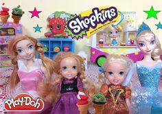 Anna and Elsa Icecream - Disney Frozen Toddlers Play-doh Ice-cream Truck...