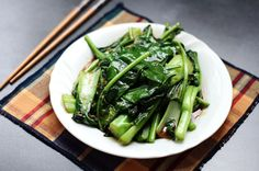 Stir Fried Asian Greens - Ang Sarap