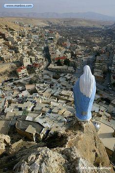 Malula, Siria. Me siento mal por toda la violencia en esta parte del mundo. Triste. Amor de la paz es la única respuesta NO violencia.