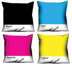 CMYK Cushions