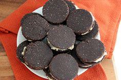 Raw Oreo Cookies - The Healthy Maven (walnuts, cashews, dates etc)