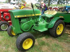 Nice looking John Deere 110 lawn & garden tractor
