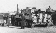 'Das Reich' Tiger in the suburbs of Kharkov