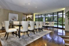 Fabulous dining room worth of celebrity entertaining