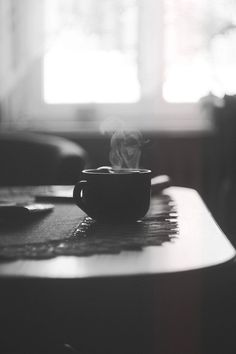 Un café matutino