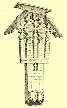 Atelierul de arhitectură Liliana Chiaburu: Troiţe vechi de lemn (2) Wooden Crosses, Christian Art, Crucifix, Romania, Folk Art, Arch, Clock, Symbols, Traditional