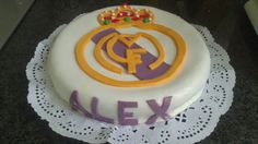 Idea con tus manos: Tarta del Real Madrid