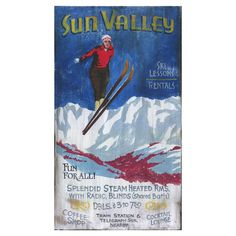 Sun Valley....I want to go skiing!