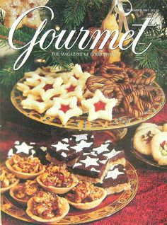 Buy any of our maazines and get another for 50% off. The 1997 December Holiday Issue, Gourmet Magazine, Volume LVII, Number 12