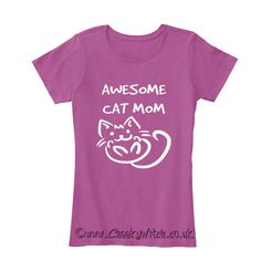 Awesome Cat Mom! A great Mother's Day gift for your favourite Crazy Cat Lady! Choose from tank tops, hoodies and t-shirts - something to suit everyone! This is a Time Limited offer so don't delay, click on the pic and reserve your shirt today! ‪#‎mothersday‬ ‪#‎mothersday2016‬ ‪#‎cats‬ ‪#‎catmom‬ #catlover