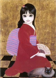 """Toshiko"" by Margaret Keane"