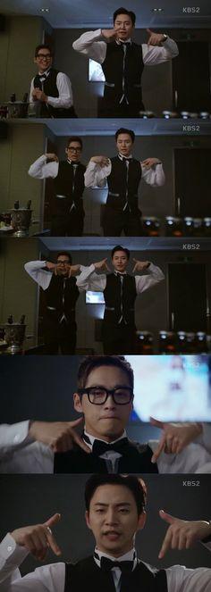 "[Spoiler] ""Chief Kim"" Namgoong Min and Junho imitate Twice ""TT"" @ HanCinema :: The Korean Movie and Drama Database"
