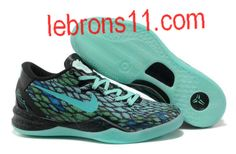 New Black Green Nike Kobe 8 System iD Sample Year Of The Snake Basketball Shoes Store Kd 6 Shoes, Nike Kobe Shoes, Nike Kd Vi, Tn Nike, Nike Zoom Kobe, Sport Nike, New Jordans Shoes, Nike Shoes Cheap, Cheap Nike