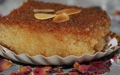 Une recette chamia ou Kalb el louz, un gâteau super fondant, délicieusement parfumé, bien coloré, pas trop sucré. Jamie Oliver, Vanilla Cake, Recipies, Muffin, Pudding, Breakfast, Fondant, Moroccan Recipes, Foods