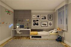 quartos de jovens modernos | Fotos de projetos modernos de quartos para jovens: