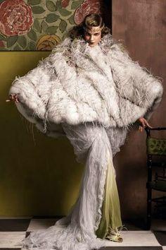 Hommage to Paul Poiret, Vogue August 2012