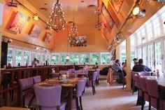Impressie van het restaurant Theehuis Rhijnauwen.