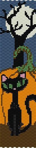 Full Moon 2 Drop Even Count Peyote Stitch Digital Download Pattern