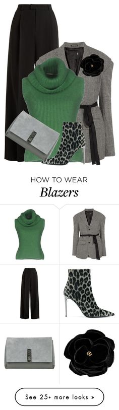 """Pants & Blazer"" by lbite on Polyvore featuring RED Valentino, R13, Ermanno Scervino, Proenza Schouler, STELLA McCARTNEY and SWILDENS"