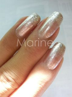 Beige Glitter  This is my nails Design&Works by self