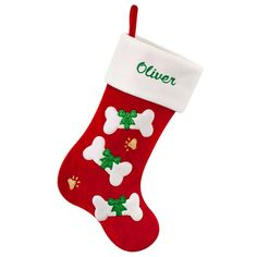 pet christmas stocking personalized a merry little christmas