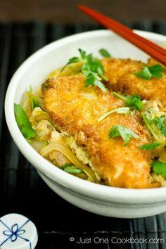 Chicken Katsu Don | Easy Japanese Recipes at JustOneCookbook.com