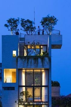 Binh House, Ho Chi Minh City, 2016 - Vo Trong Nghia Architects