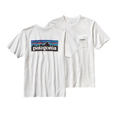 The Classic P-6 Logo Cotton T-Shirt from Patagonia will become your go to this season. This ringspun, long-staple organic cotton features the iconic Patagonia logo on the back.