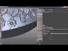 CINEMA 4D-ступенчатая часы скульптуры - YouTube