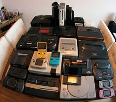Behold, the Ultimate Handheld & Console Collection by Burt Youngsters, via Flickr