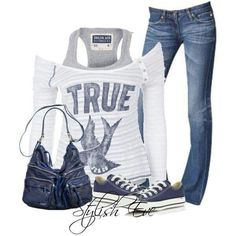 Nice outfit for school