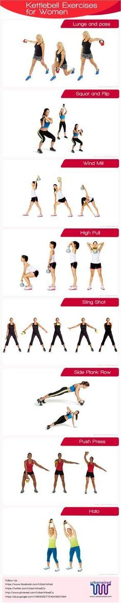 Fitness instructors are of the opinion that for women kettlebell exercises for women are a good way to combine cardio and strength training. Know why? #kettlebellexerciseforwomen #strengthtraining