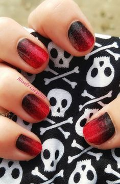 Black Nails, Red Nails, Fall Nails, Nail Trends, Color Trends, Gothic Images, Nail Jewelry, Nail Polish Strips, Color Street Nails