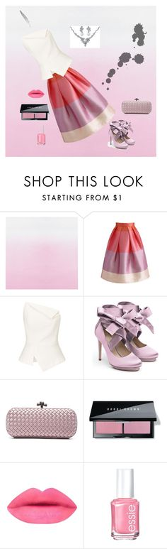 """""""My favourite skirt"""" by s-o-polyvore ❤ liked on Polyvore featuring Chicwish, Roland Mouret, Liam Fahy, Bottega Veneta, Bobbi Brown Cosmetics, Essie and Bling Jewelry"""