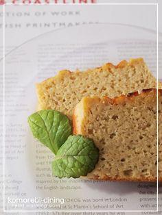 おからバナナケーキ   「こもれび食堂+」 by こもれびダイニング Bread Recipes, Baking Recipes, Healthy Recipes, How To Make Cake, Banana Bread, Sweets, Diet, Dining, Cooking