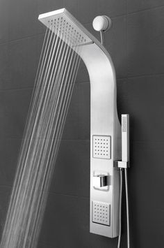 Features:  Shower Panel System Comes With A Easy Connect Adapter, Rainfall,  Waterfall