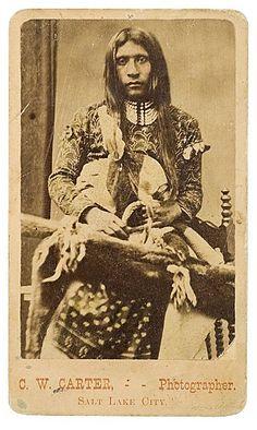 Shoshone man – 1868