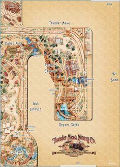 Thunder Mesa Mining Co.: Aerial View, Exspansion and the Town of Thunder Mesa