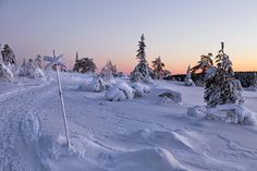 Winter in Dalarna, Sweden